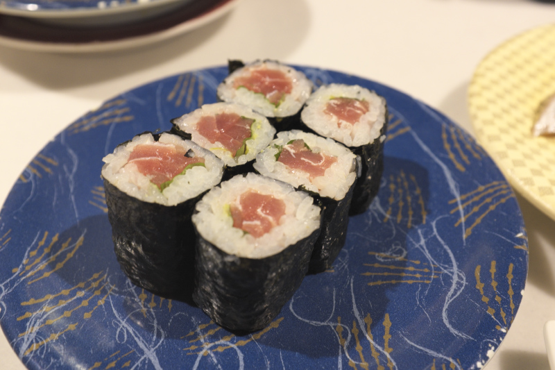 寿司虎の鉄火巻