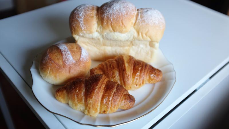 海の上のパン屋さんのパン
