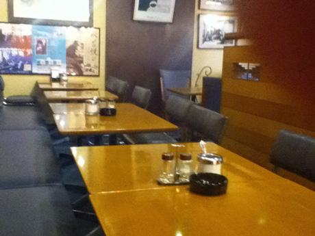 カフェ・ブラジレイロの店内
