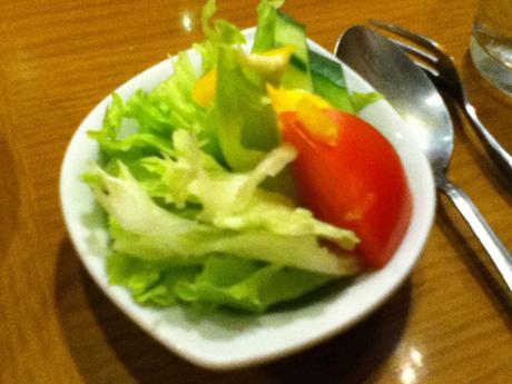 カフェ・ブラジレイロのサラダ