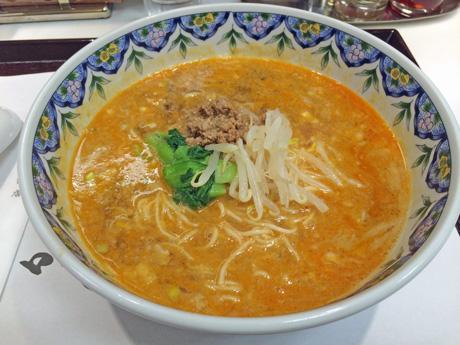 四川飯店の担担麺