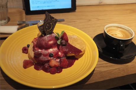 ロンハーマン福岡 RH CAFEのパンケーキ