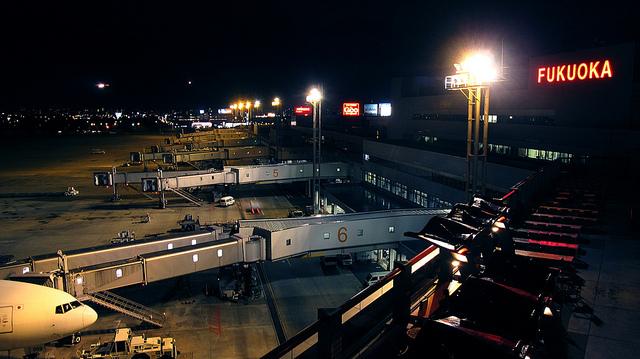 福岡空港夜景